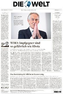 Welt Epaper Die Welt Am Sonntag Die Welt Als Pdf